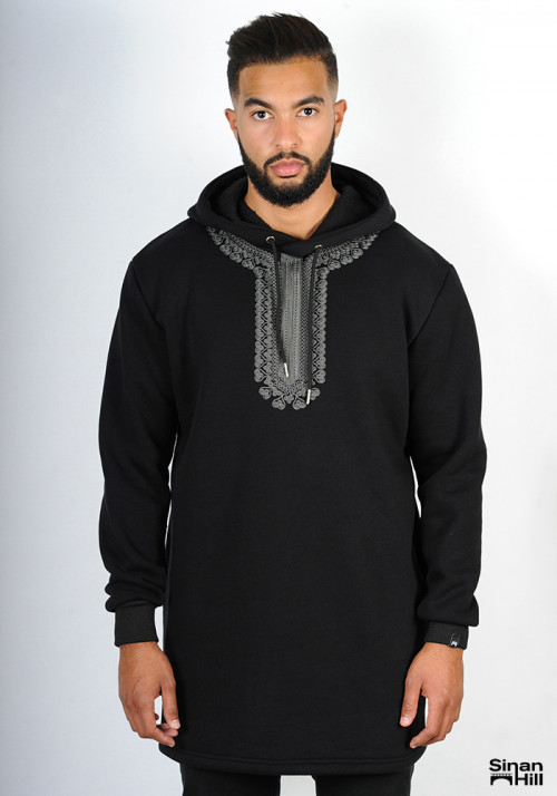 "Sweat capuche Sinan Hill ""pur sang"""