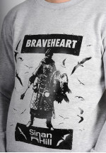 "Sweat crewneck Sinan Hill ""Braveheart"""