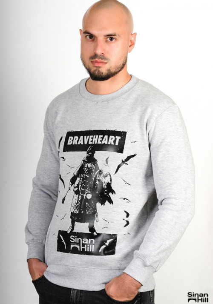 "Sweat crewneck Sinan Hill ""Braveheart"""