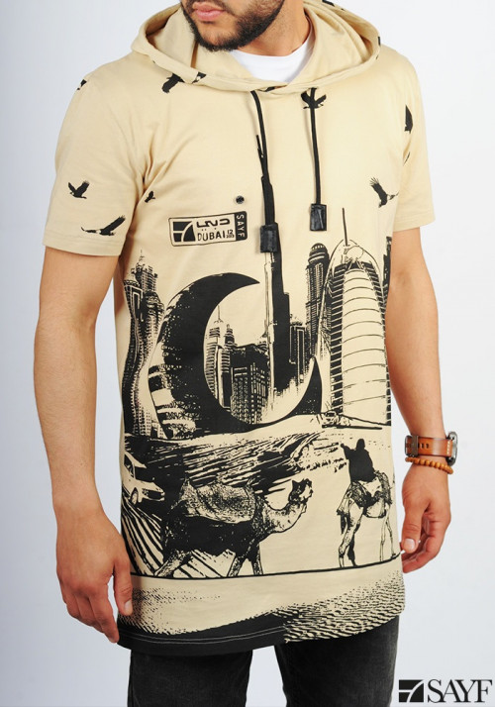 T-shirt Dubaï