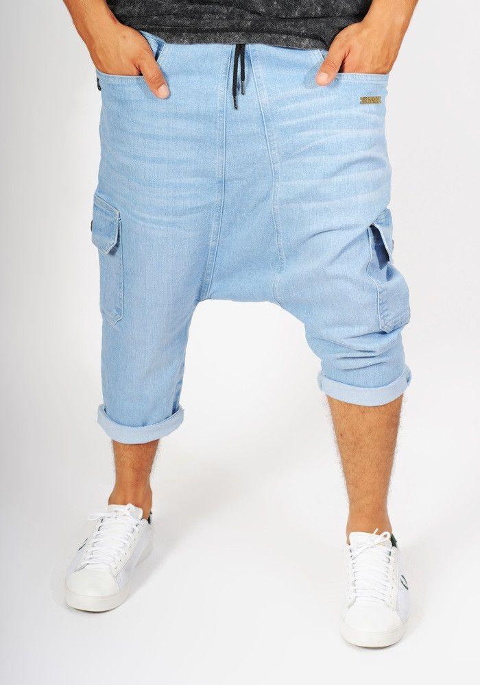 Sarouel jean's bleu clair
