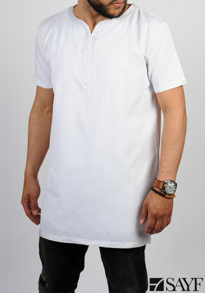 T-shirt sfifa blanc