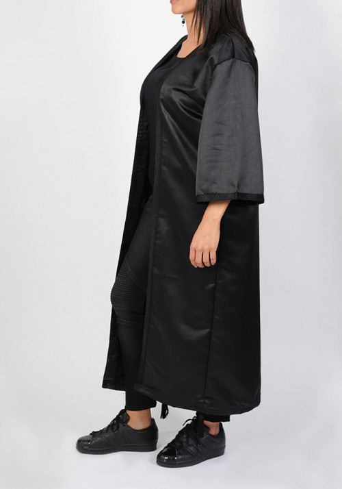 Kimono noir femme