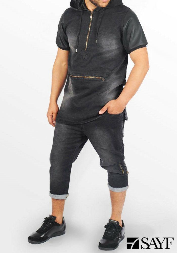 Haut jean's noir