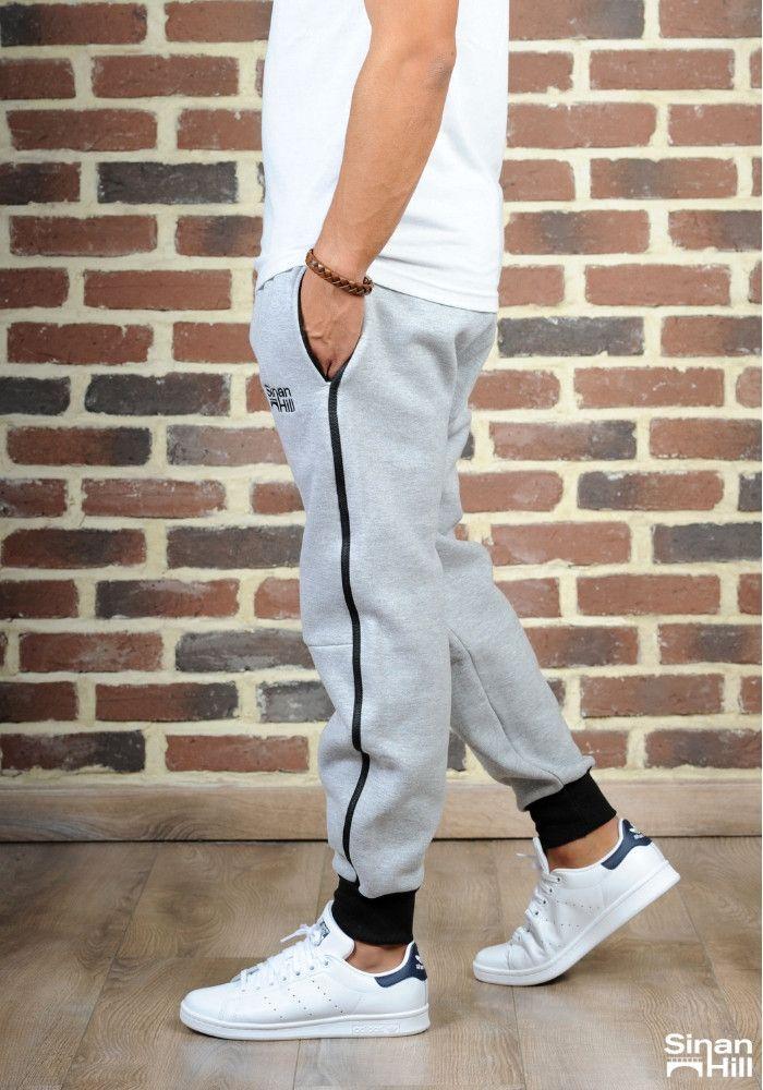 Sarouel jogging SINAN HILL super grey