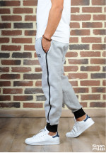 Sarouel jogging SINAN HILL super grey