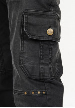 Sarouel jean's SINAN HILL off-black