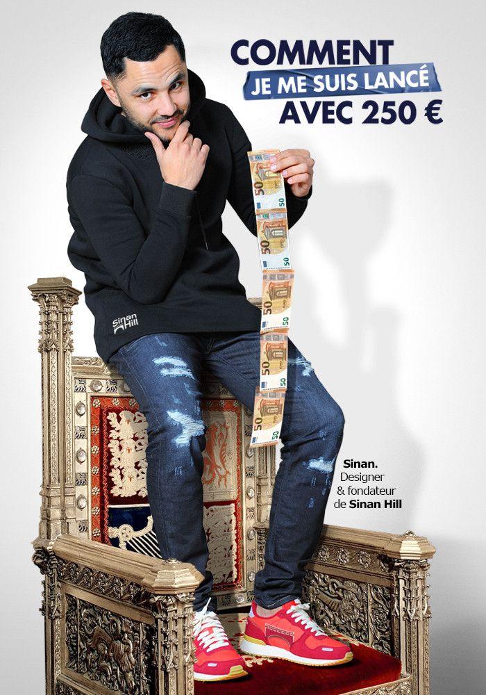 """Livre e-book """"Comment je me suis lancé avec 250€"""" de Sinan"""