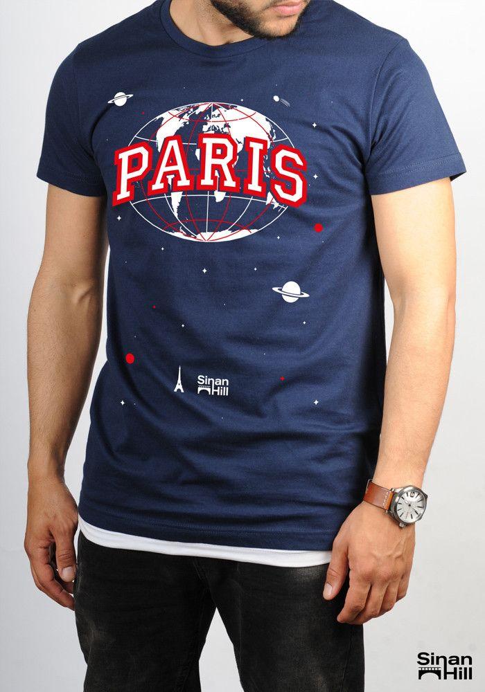 """T-shirt """"Paris"""" Sinan Hill"""