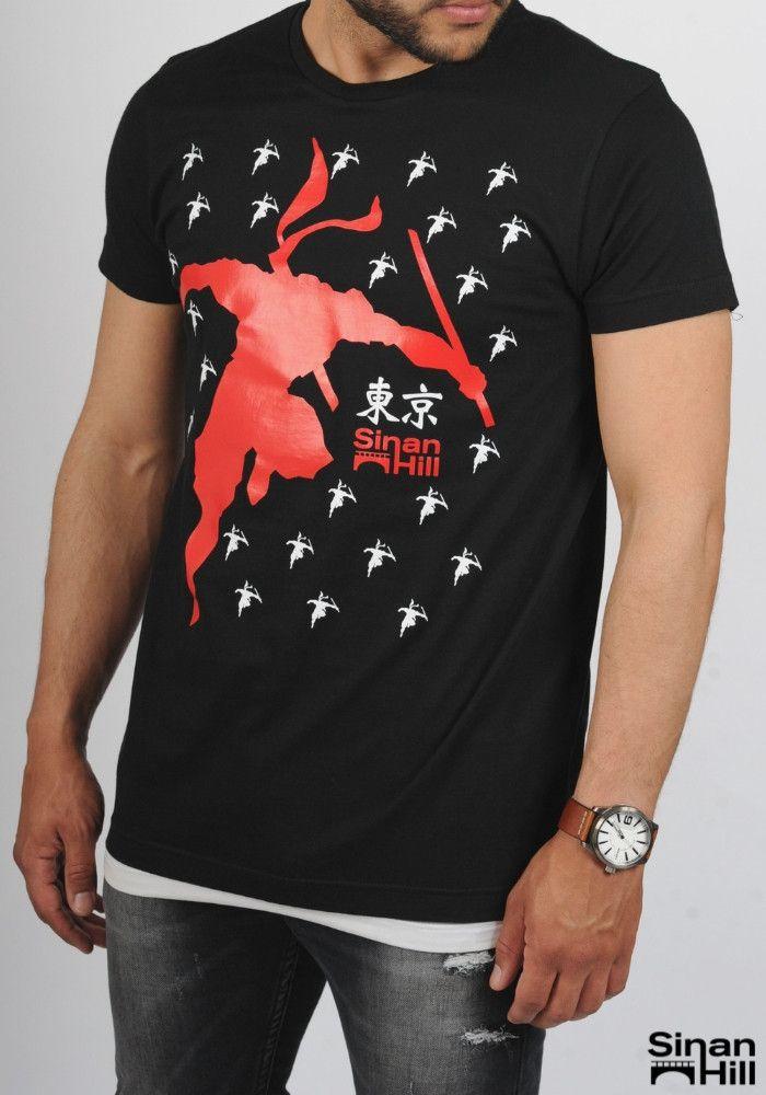 "T-shirt ""Tokyo Ninja"" Sinan Hill"