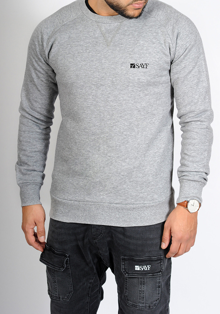 "Sweat col rond SAYF ""logo"""