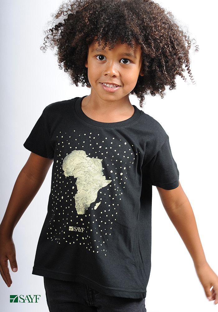 "T-shirt enfant ""Grande Afrique"""