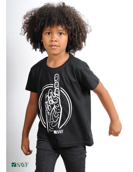 """T-shirt enfant """"Calligraphie"""""""