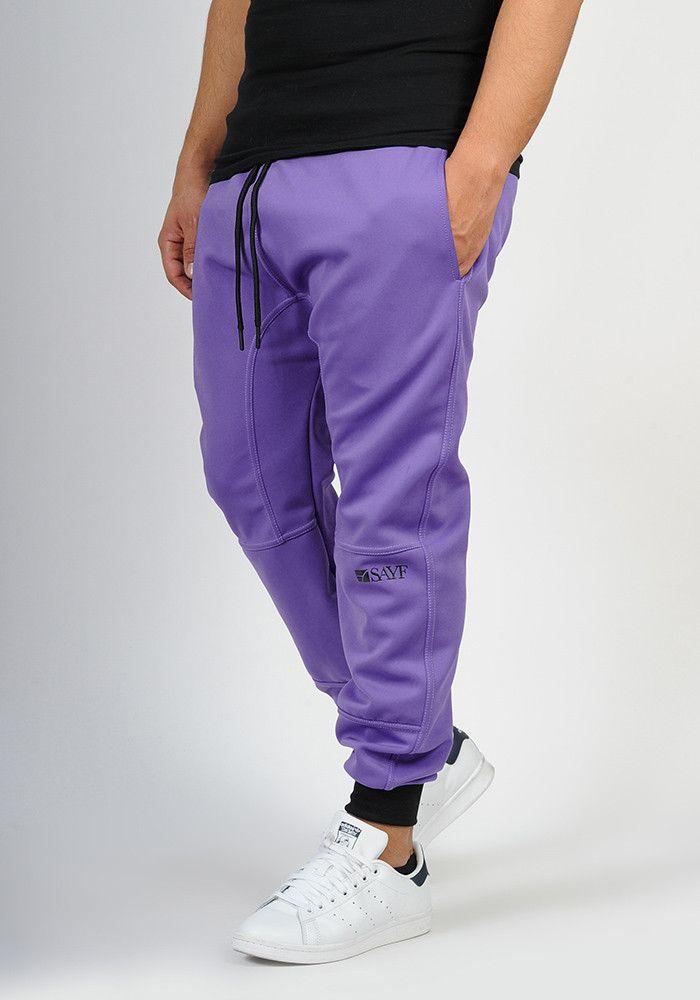 Lycra sarouel SAYF purple