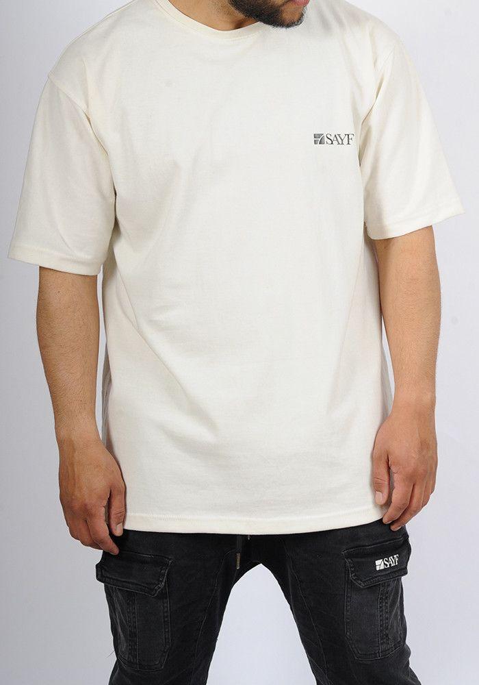 SAYF off-white oversized t-shirt