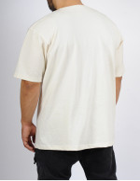 T-shirt oversize SAYF off-white