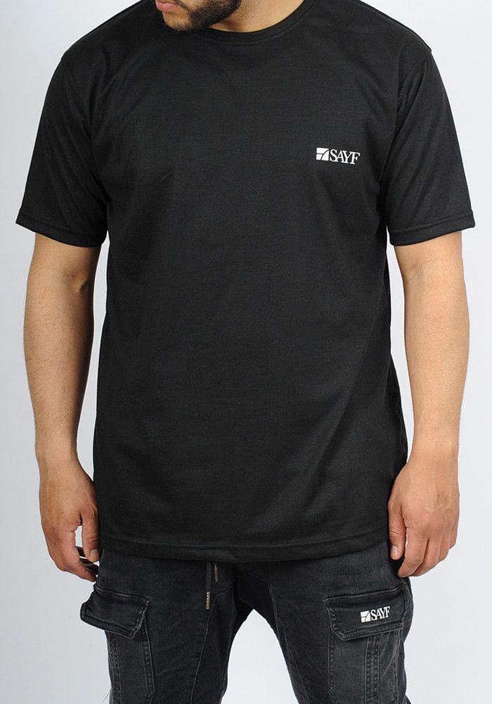 SAYF oversized black t-shirt