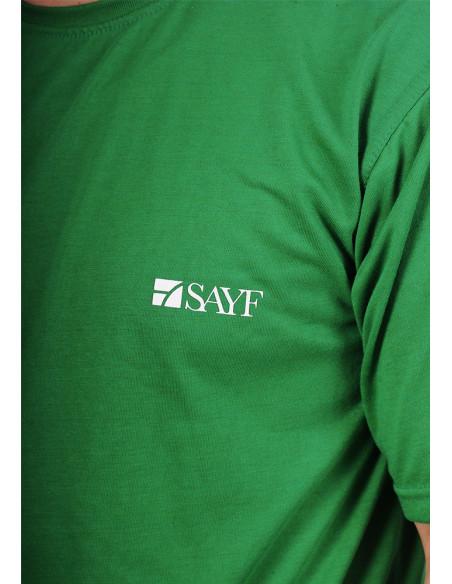 T-shirt oversize SAYF vert