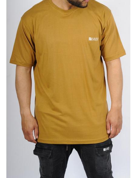 T-shirt oversize SAYF camel