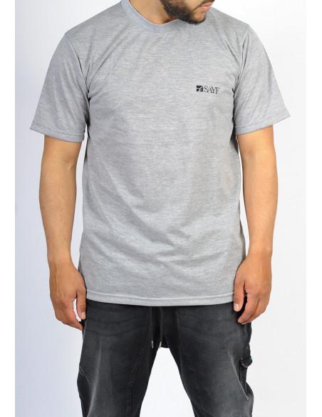 T-shirt oversize SAYF gris chiné