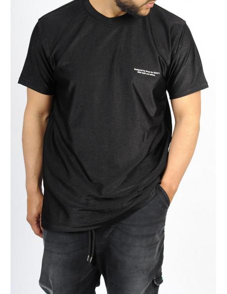 T-shirt oversize SAYF black vision