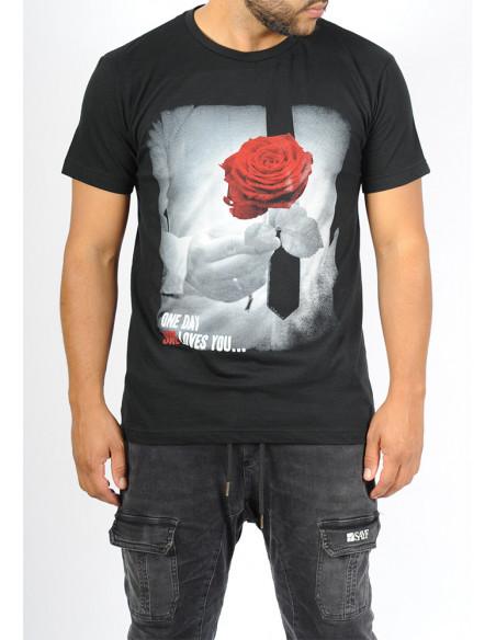 T-shirt SAYF Dounya (design devant et dos)