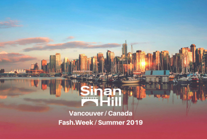 Sinan Hill à la Fashion-Week de Vancouver ! (Canada)